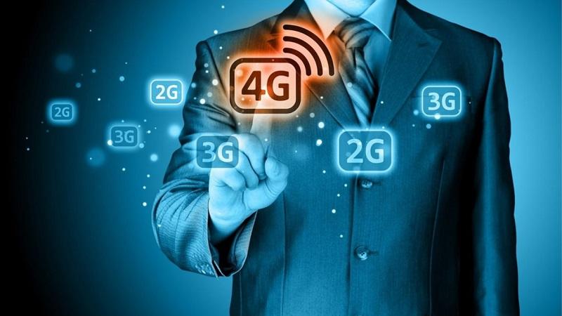 Sự khác biệt giữa 2G, 3G, 4G